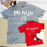 Regalos personalizados para el dia del padre. Combinaciones de camisetas, polos, bodies con ideas originales y divertidas para regalar al papá y a sus peques. Y si te animas ¡puedes hacer tu propio diseño! En un par de clics en nuestra web www.simplycolors.es