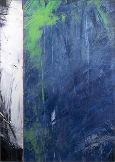 """INTERVENTIONS"" 13 | Ivo Stoyanov | 2008 Mixed media on canvas 68""x48"""