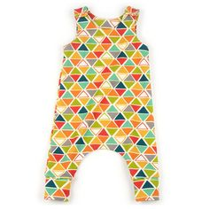 Toddler Harem Romper by Brindille and Twig - sewing pattern