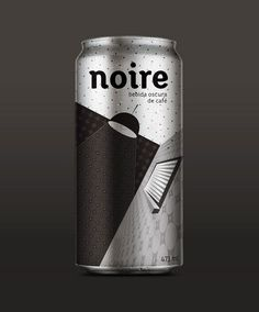 "Noire Coffee, designed by Oscar Guerrero Cañizares: ""The design was inspired by the film noir, which tries to convey the sensuality and mystery of this film, which are characteristic of this drink."""