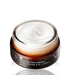 Try a little snail for when your eyes are feeling thirsty. — I know what you're thinking . . . snail? Under my eyes? No thanks! But the 80 percent snail mucin in the Snail Repair Eye Cream ($22) is a multipurpose skin savior. Snail mucin actually has firming properties. Plus, this cream contains a blend of natural oils, creating a moisturized, smooth base for concealer.