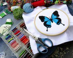 Cross Stitch Kit para principiantes  diseño por theworldinstitches