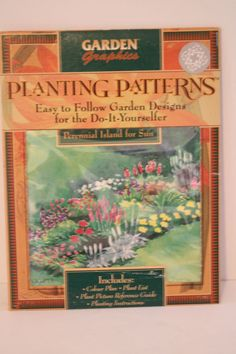 Planting Patterns Design Perennial Island for Sun Plans List Instructions Guide #GardenGraphics