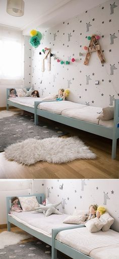 painted ikea beds
