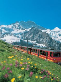 The Classic Train Journey  Jungfrau Express and Golden Pass Railway Tour, from £1,735  There's something romantic about train travel - and this six-day tour has it all, taking in the beautiful countryside of Belgium, Luxembourg, Switzerland and Germany from your first class carriage. Peer down from the highest railway station in Europe (the trip's highlight), overlooking snow-capped mountains and lush winding valleys. Great Rail Journeys offer a number of British options too.