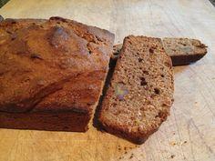 No sugar banana bread  Sweet and healthy. A fantastic breakfast or snack!