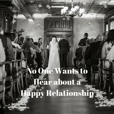 No one wants to hear about a happy relationship.  This week's blog at ValsBytes.com  #blog #blogger #relationshipadvice