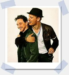 James McAvoy and Michael Fassbender They look like they had so much fun making DOFP!