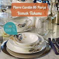 Dekoryon'da Pierre Cardin Yemek Takımı Josie kısa süreliğine %44 indirimde!