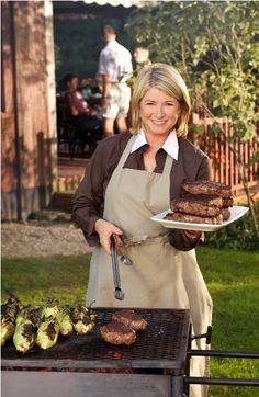 Martha. Martha Stewart is a good teacher, I love her.