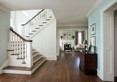 Private Residence, Newtown Square, PA - traditional - staircase - philadelphia - McIntyre Capron & Associates,