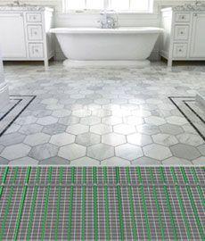 tile warming mats ideas stone tiles