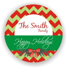 Christmas Labels  Personalized Address Labels  by MMGraphicDesigns