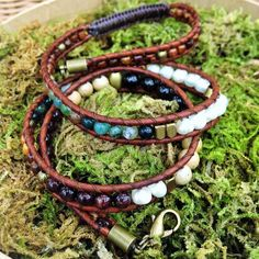 Triple Wrap Bohemian Bracelet   Authentic Gemstones: Garnet Jasper Howlite Fresh Water Pearls  Handmade  Local Jewelry! --- Available to purchase on Etsy at wanderlustwrists.etsy.com  #bracelet #bracelets #handmade #handmadebracelet #handmadejewelry #local #etsy #wanderlust #travel #explore #victoria #leather  #travelbracelet #crystalproperties #healing #bohemian #jewelry #wrapbracelet #chanluu #christmasgift #stockingstuffers #jasper #garnet #howlite #shopetsy #etsysuccess
