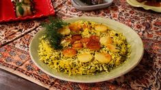 Ris med knaprig skorpa – Tahdeg Fish And Seafood, Hummus, Grains, Rice, Ethnic Recipes, Mad, Laughter, Jim Rice