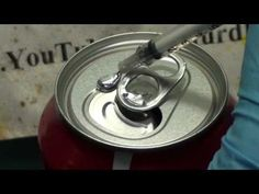 """[Video] - """"Gallium Induced Structural Failure of a Coke Can"""" - TheLOLempire Chemistry Periodic Table, Matter Science, Coke Cans, Science Fair, Science Projects, Fun To Be One, Mind Blown, Physics, Mindfulness"""