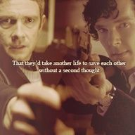 """""""Theirs is a most remarkable friendship. I often wonder if they are a substitute for the family they'd longed for. John's not in a great place with Harry and we all know how Sherlock and Mycroft are."""" Oh, my feels!!!!"""
