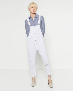 SKINNY DENIM DUNGAREES-View all-JEANS-MAN | ZARA United States