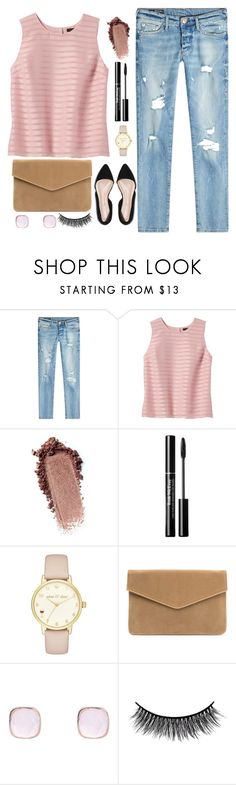"""Pink top look ❤"" by vickytoria09 ❤ liked on Polyvore featuring True Religion, Banana Republic, Kate Spade, Latelita, Battington and pinktoplook"