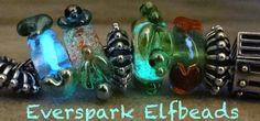 Everspark Elfbeads #BeadCastle #GlowInTheDarkBeads