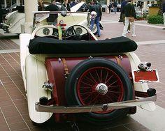 Jaguar SS MK II 1935 - Rear View