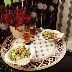 Najlepsza restauracja - własna kuchnia i balkon :)