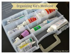 ... and away we go!: Organizing kids medicine...