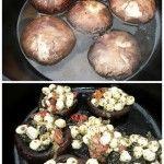 Olive Garden Portobello Mushrooms with Mozzarella