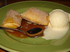 Applebee's apple Chimi-cheesecake   recipe http://www.recipehub.com/7218-recipe-applebees-chimicheesecake.html