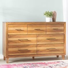 Tarin 7 Drawer Dresser Decor, West Elm Dresser, Dresser, Modern Furniture, Drawer Nightstand, Contemporary Dresser, Living Room Designs, Home Decor, Furniture