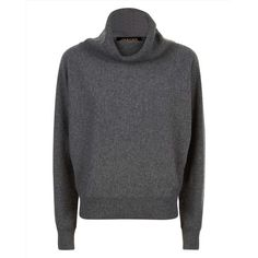 Jaeger Jaeger Cashmere Slouchy Sweater ($215) ❤ liked on Polyvore featuring tops, sweaters, cowl neck sweater, cashmere sweater, cut-out crop tops, jaeger sweater and slouchy tops