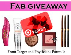 WIN: One of Four $50 Target Gift Cards from Physicians Formula!