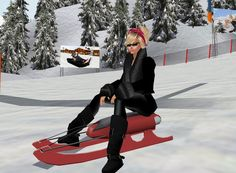 """Snow bunny"" Captured Inside IMVU - Join the Fun!"