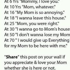 Mom I love you more than words could ever express. Ronald Love and miss you mom, Mom Quotes, Family Quotes, Great Quotes, Quotes To Live By, Life Quotes, Funny Quotes, Inspirational Quotes, Mother Quotes, Daughter Quotes
