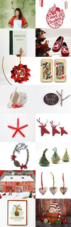 Christmas Time  by Elinor Levin on Etsy--Pinned with TreasuryPin.com
