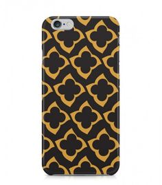 Yellow and Brown Abstract Seamless 3D Iphone Case for Iphone 3G/4/4g/4s/5/5s/6/6s/6s Plus - ABSTSEAM0185 - FavCases
