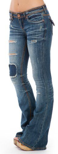 Dollhouse Corded Pocket Bootcut Jeans - http://cheune.com/a/28577804658561945
