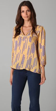 there has to be a job out there somewhere that requires me to wear this Tucker silk blouse?