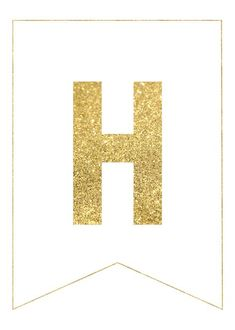 Gold Free Printable Banner Letters - Paper Trail Design - Gold Free Printable Banner Letters Use our gold free printable banner letters to make any custom ba - Printable Letter Templates, Free Printable Banner Letters, Banner Template, Happy Birthday Banner Printable, Happy Birthday Signs, Happy Retirement Banner, Diy Birthday Banner, Happy Mothers Day Banner, Happy New Year Banner