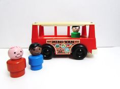 Fisher Price Little People Family Mini Bus Play by TimelessToyBox, $15.95