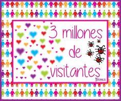 Actividades para Educación Infantil: 3 millones de visitantes