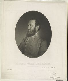 """""""Stonewall"""" Jackson From a photograph from life  c1864 March 26"""
