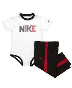 Nike Baby Set, Baby Boys Bodysuit and Pants - Kids Shop All Baby - Macy's Little Kid Fashion, Little Boy Outfits, Baby Boy Fashion, Toddler Fashion, Baby Boy Outfits, Kids Outfits, Kids Fashion, Baby Boy Swag, Baby Boys