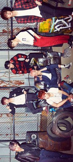 "BTS ""Hormone War"" Concept Photo"