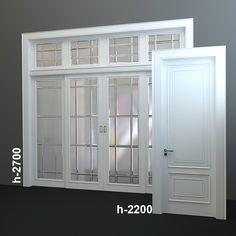 Wood Doors 3D Model - 3D Model