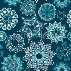 A Winter Night In Saint Petersburg, Repeat Pattern by Irina Timofeeva at patterndesigns.com
