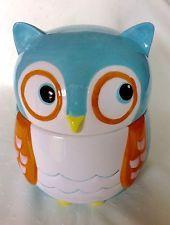 Novelty - Talking -  Owl - Cookie Jar