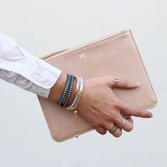 c644ba58943b I ve just found Personalised Luxury Metallic Leather Clutch Bag. A very  stylish luxury