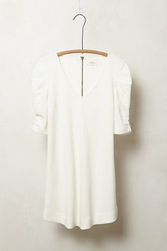 Crinkled  & Cinched Tunic #anthropologie