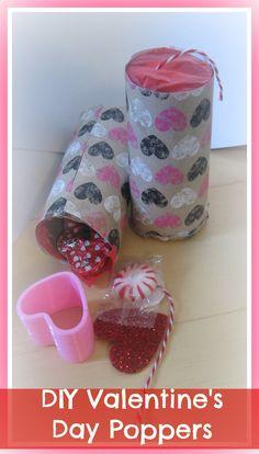DIY Valentine's Day Gift Ideas:How to make a valentine candy popper/ DIY...